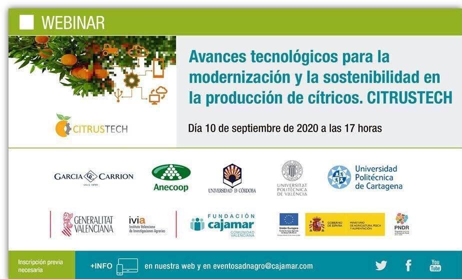 Avances tecnológicos para la modernización y la sostenibilidad en la producción de cítricos