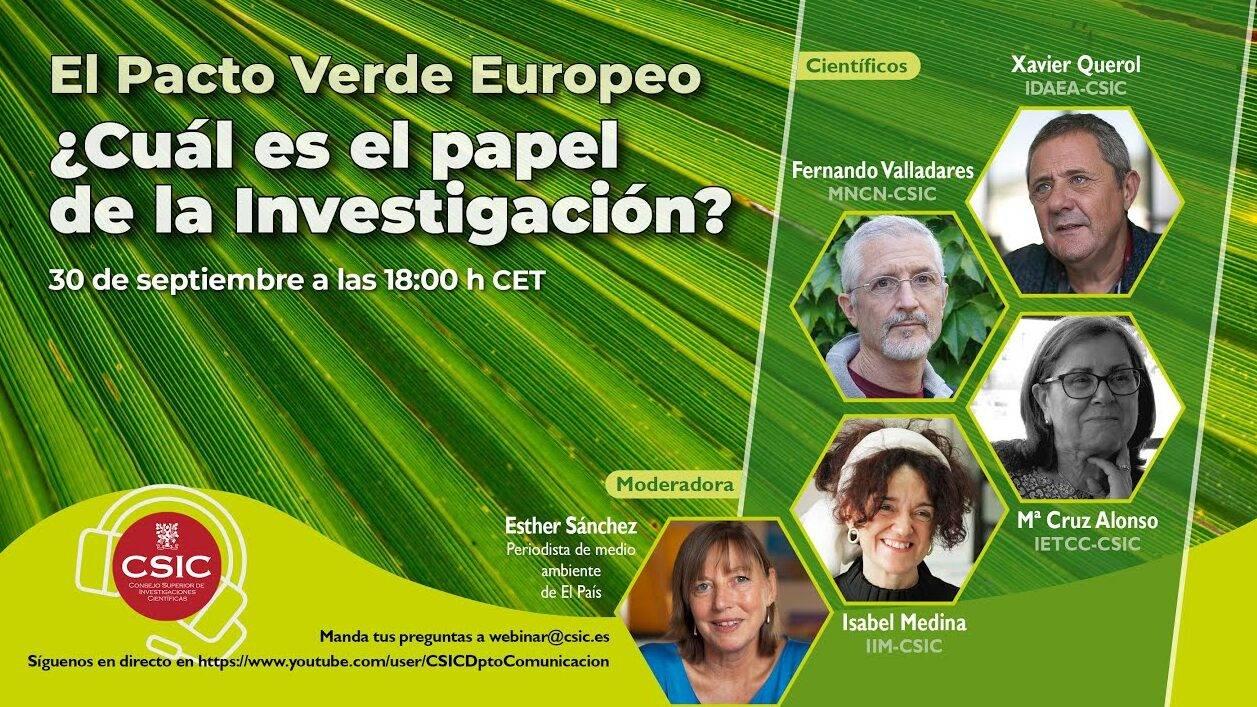 El pacto verde europeo ¿Cuál es el papel de la investigación?