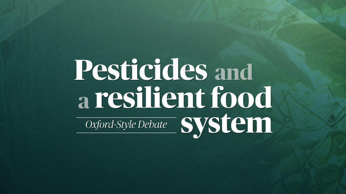 Pesticides and a Resilient Food System
