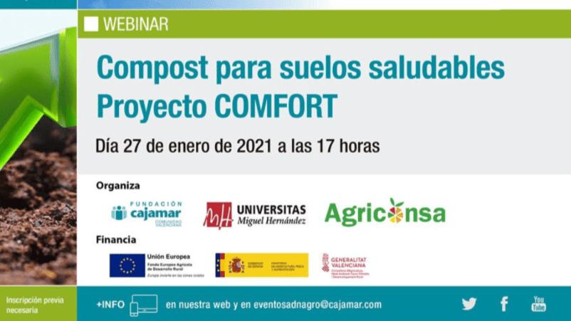 Compost para suelos saludables. Proyecto COMFORT