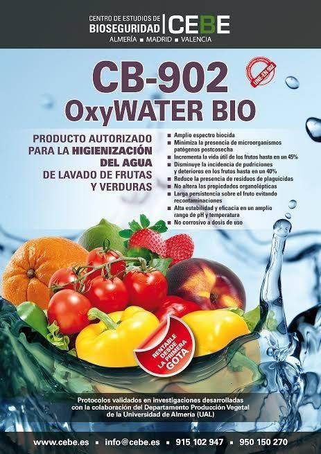 Oxy WATER BIO, de CEBE, Centro de Estudios de la Biodiversidad