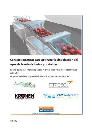 Consejos prácticos para optimizar la desinfección del agua de lavado de frutas y hortalizas