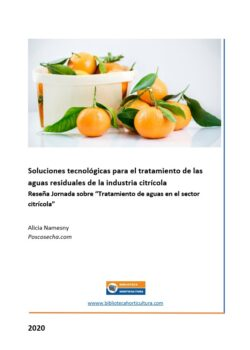 Soluciones tecnológicas para el tratamiento de las aguas residuales de la industria citrícola