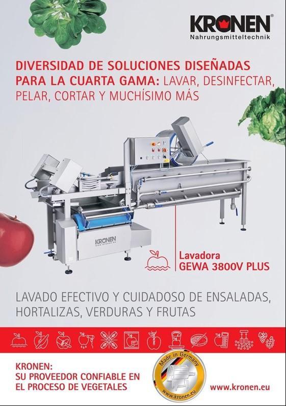 lavadora GEWA3800V PLUS
