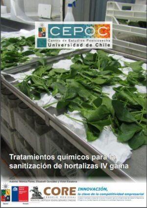 Tratamientos químicos para la sanitización de hortalizas IV gama