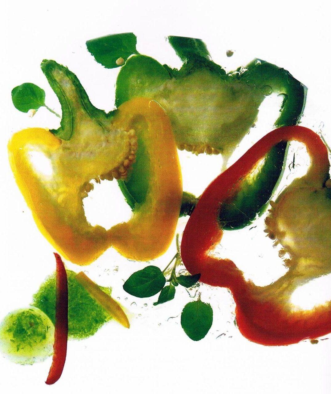 Elaboración de pimiento mínimamente procesado en fresco