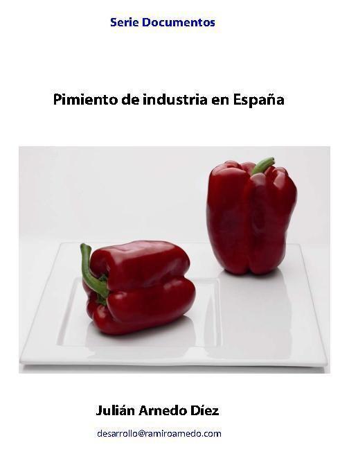 Pimiento de industria en España