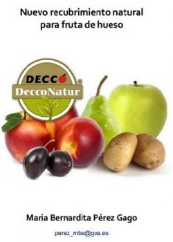 Nuevo recubrimiento natural para fruta de hueso