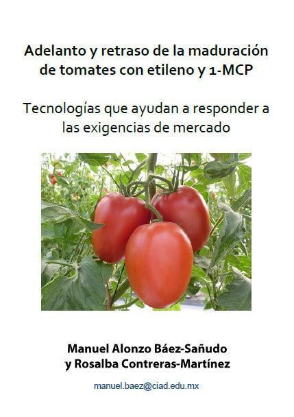 Adelanto y retraso de la maduración de tomates con etileno y 1-MCP