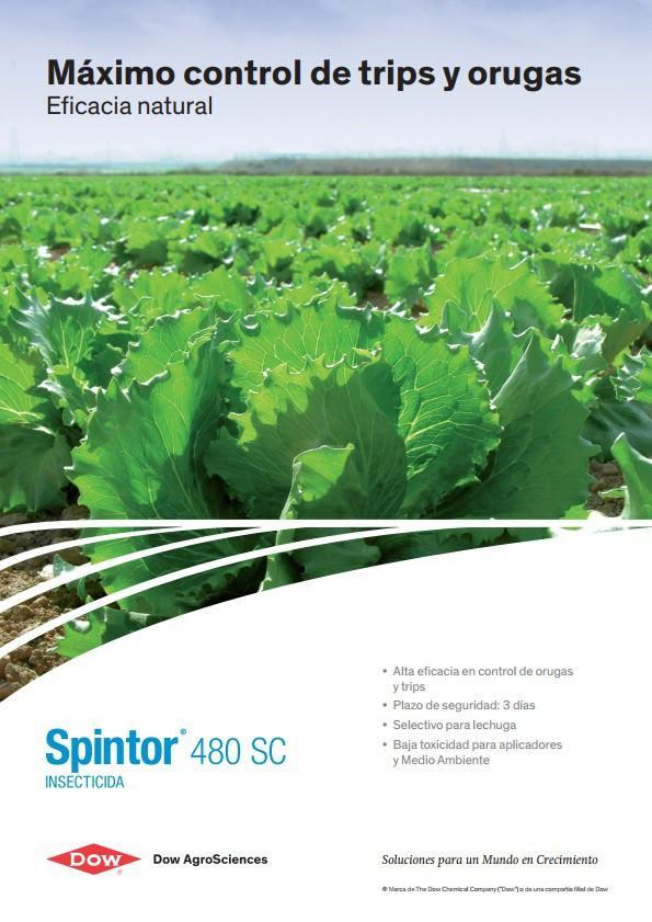 DOW AgroSciences: Spintor 480 SC, nuevo insecticida