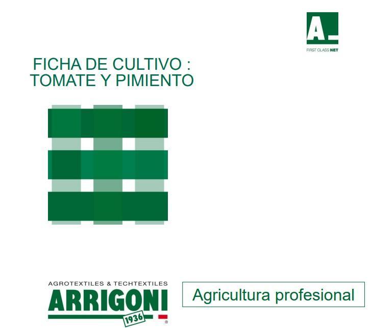 ARRIGONI: Agrotextiles & techtextiles. Agricultura profesional