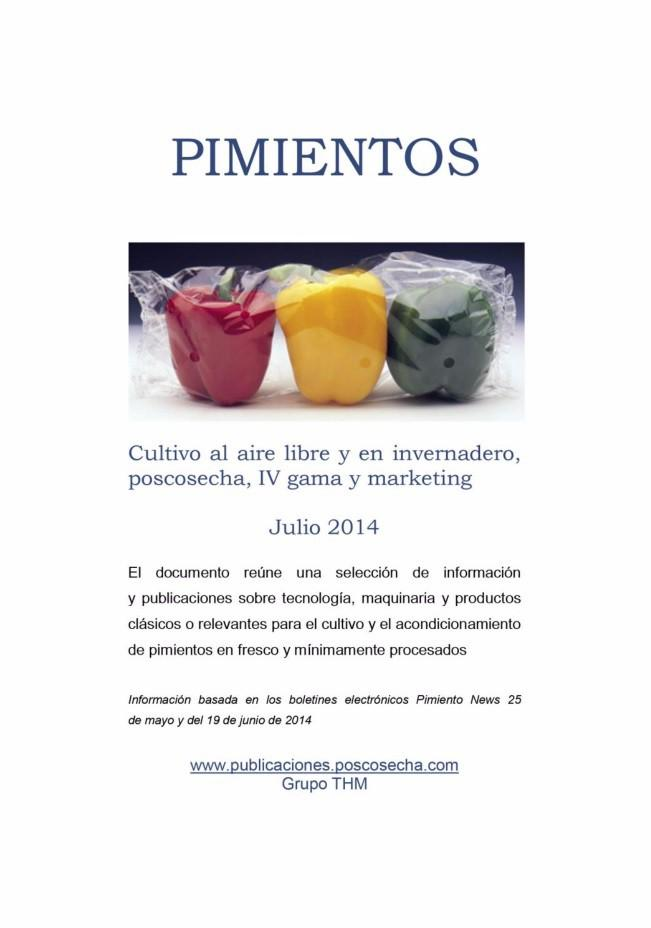 Info Pimientos 2014