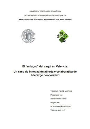 El 'milagro' del caqui en Valencia