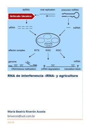 RNA de interferencia -iRNA- y agricultura