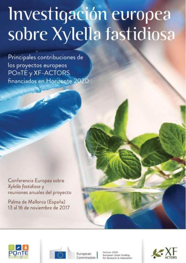 Investigación europea sobre Xylella fastidiosa