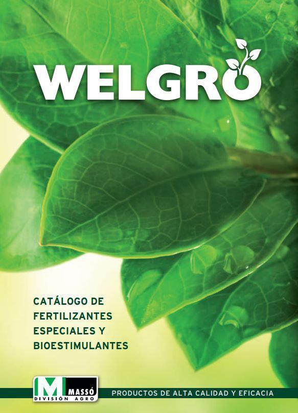 Catálogo de Fertilizantes especiales y bioestimulantes