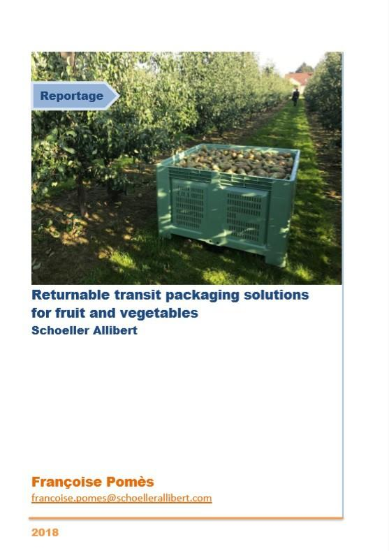 Returnable transit packaging solutions for fruit and vegetables
