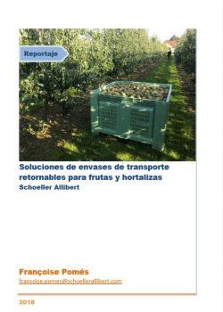 Soluciones de envases de transporte retornables para frutas y hortalizas