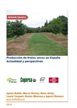 Producción de frutos secos en España