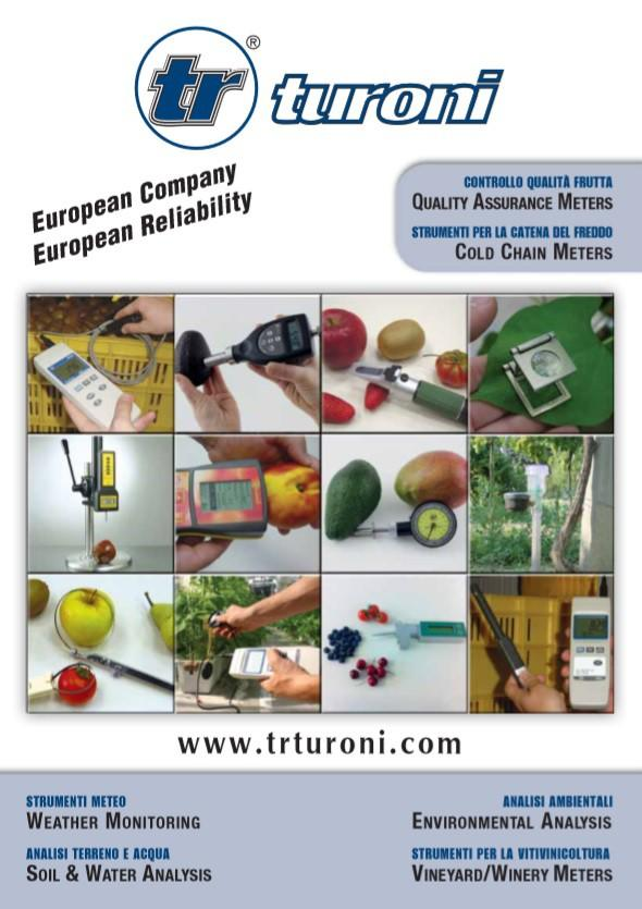 T.R. di Turoni - 2018 Catalogue / Catálogo