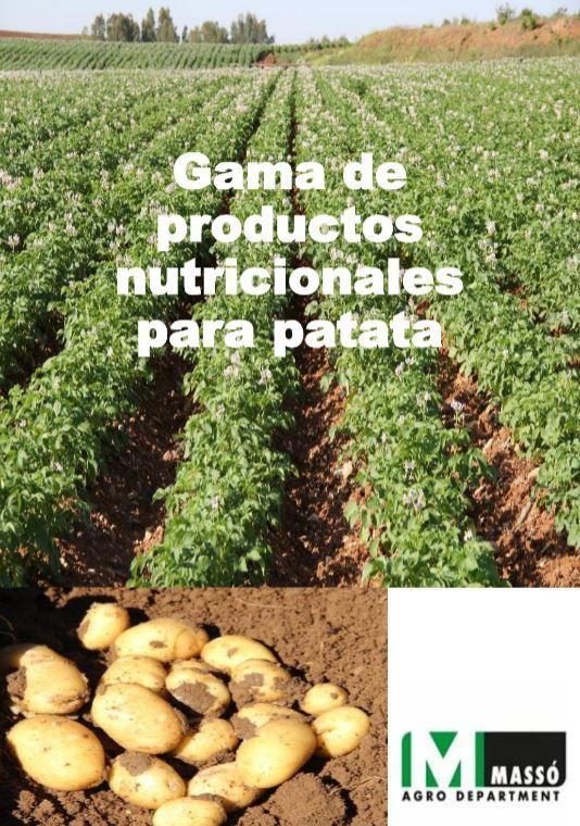 La nutrición de la patata