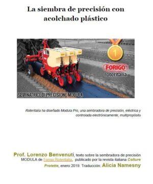 La siembra de precisión con acolchado plástico