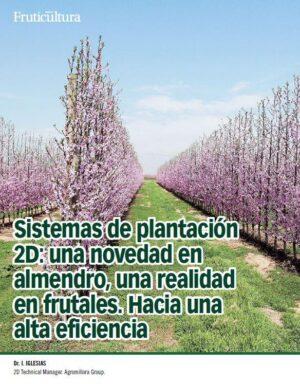 Sistemas de plantación 2D en Frutales