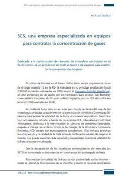 SCS, una empresa especializada en equipos para controlar la concentración de gases