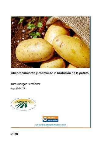 Almacenamiento y control de la brotación de la patata