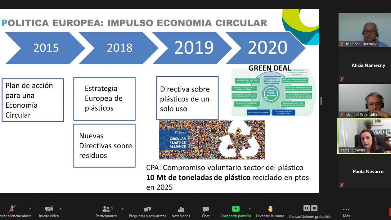 Gestión de residuos plásticos agrarios e Investigación en poscosecha en Extremadura