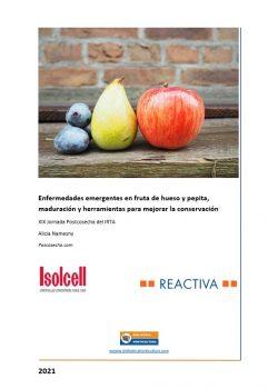 Enfermedades emergentes en fruta de hueso y pepita, maduración y conservación